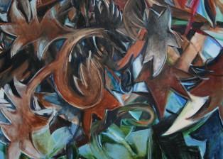 2014 Acryl auf Leinwand 1,20 m  x  0,80 m